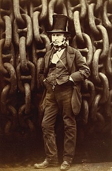 ISAMBARD KINGDOM BRUNEL PLANS TO RETIRE TO TORQUAY
