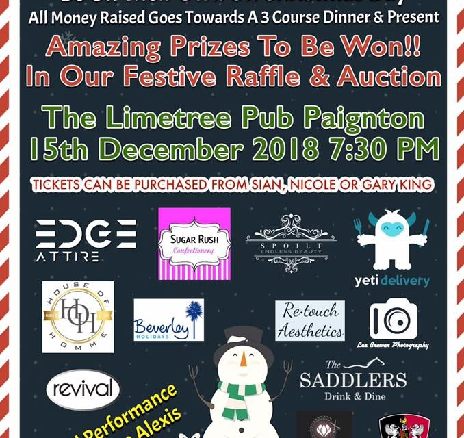 Fundraiser for the Elderly Tonight – Full Raffle Prize List!