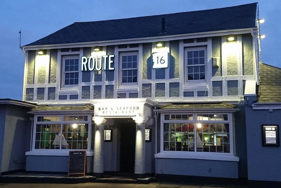 Win a Meal for 2 at the fantastic Route 16